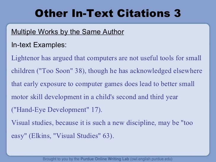 citing video games mla in text