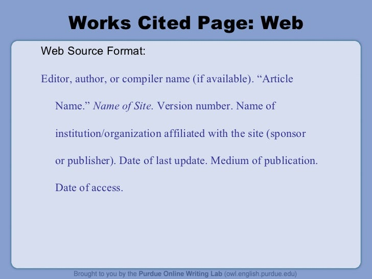 mla format cited website Please note that a citation as it appears in a library research database may not yet be in mla format however, the database citation with mla citations.