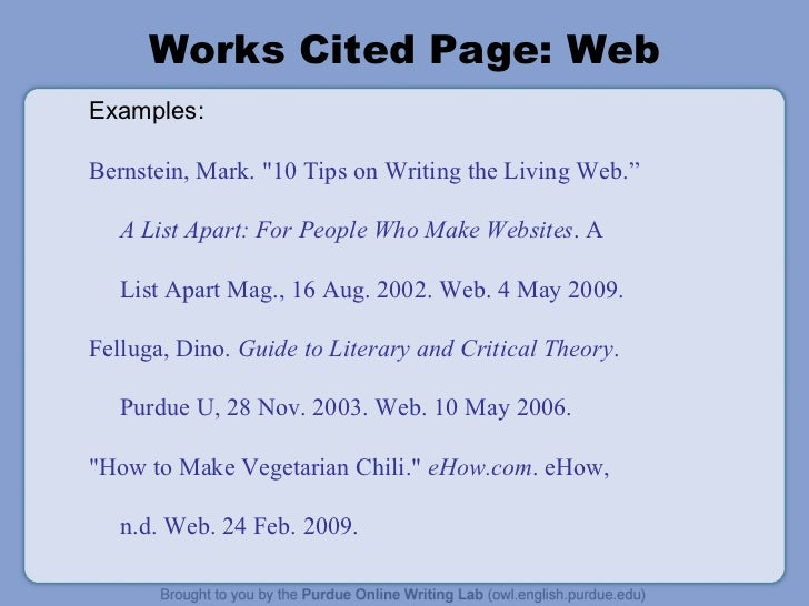 How to Cite a Web Page in APA