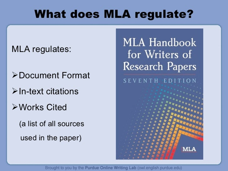 how to set up an mla paper