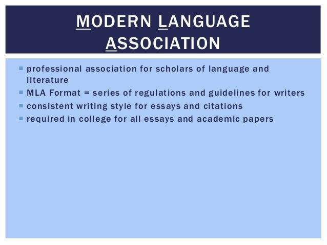 mla citation notes