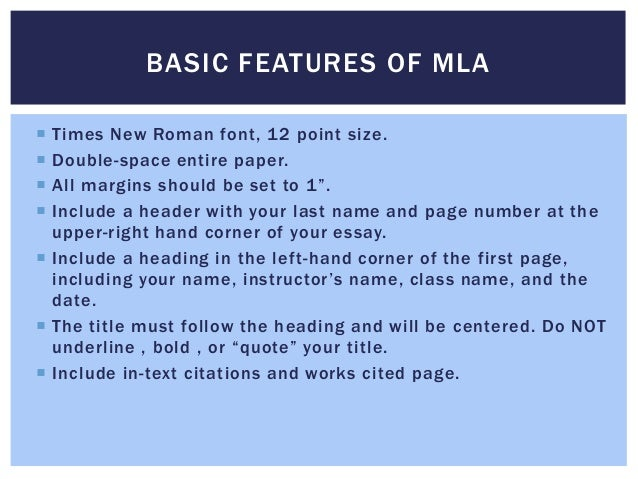 what is the font for mla format How to - format papers in standard academic format (using microsoft word) categories: font rule: college papers should be in a standard academic font: for documents following mla format.