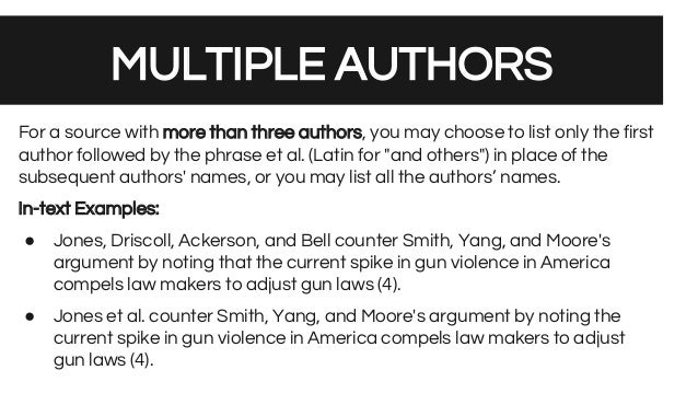 how to cite a textbook with multiple authors