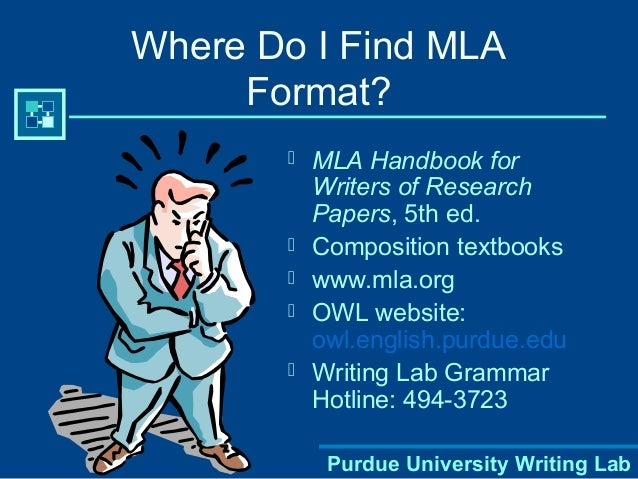why use mla format