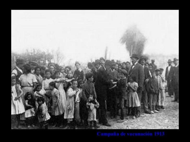 Campaña de vacunación 1913
