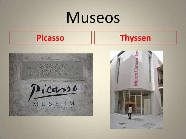 MuseosPicasso        Thyssen