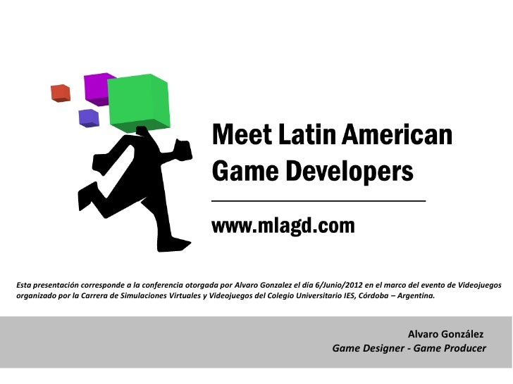 Esta presentación corresponde a la conferencia otorgada por Alvaro Gonzalez el día 6/Junio/2012 en el marco del evento de ...