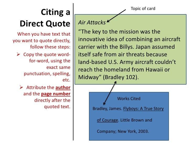 mla citation english essay