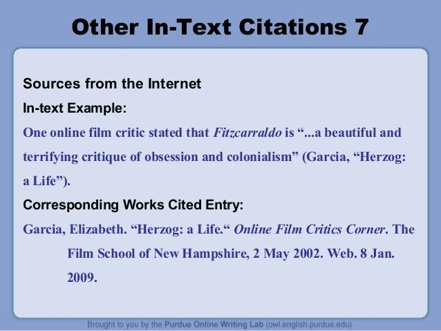 mla in text pdf slide