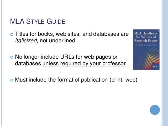 mla format research papers 7th edition Mla (modern language association) citation and format style guide this guide provides examples of citations you might use in research papers following the mla.