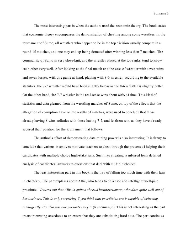 mla style course work super freakonomics summary rh slideshare net Steven Levitt freakonomics chapter 3 study guide answers