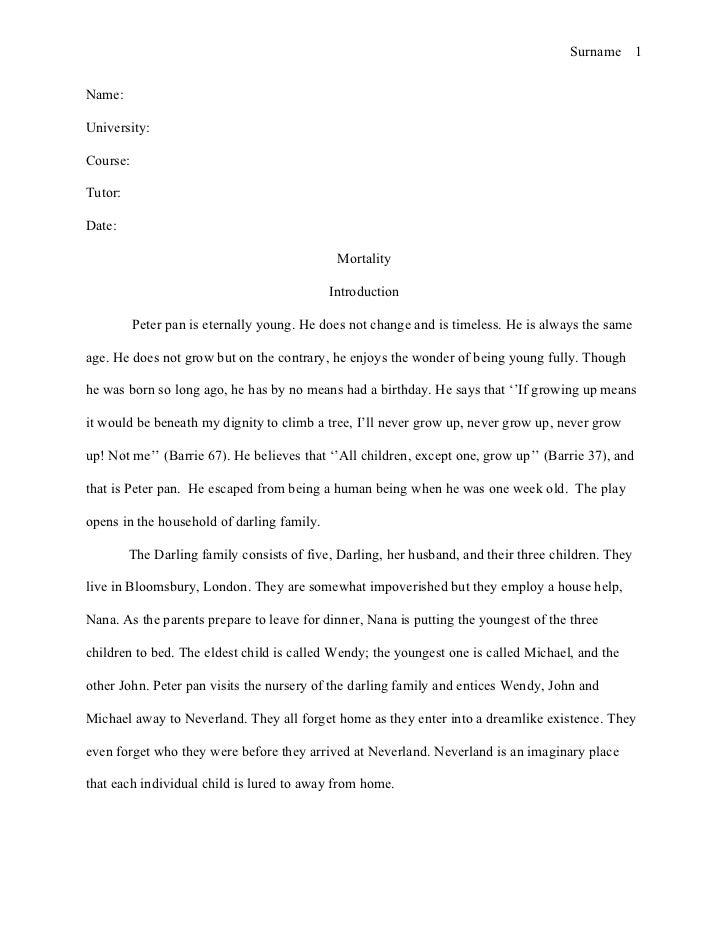 mla style essay mortality essay mla style essay mortality essay sur 1 university course tutor date