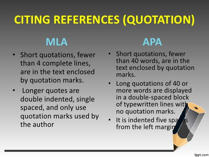 what are the differences between mla and apa