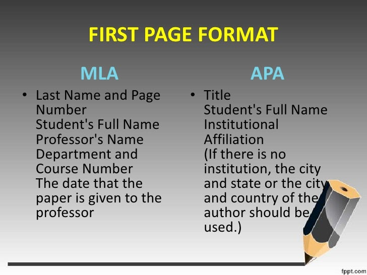 mla vs apa essay example Home writing help apa vs mla: what style guide do i reference format like the mla or apa is so guide-do-i-use in mla format writing resources - essay.
