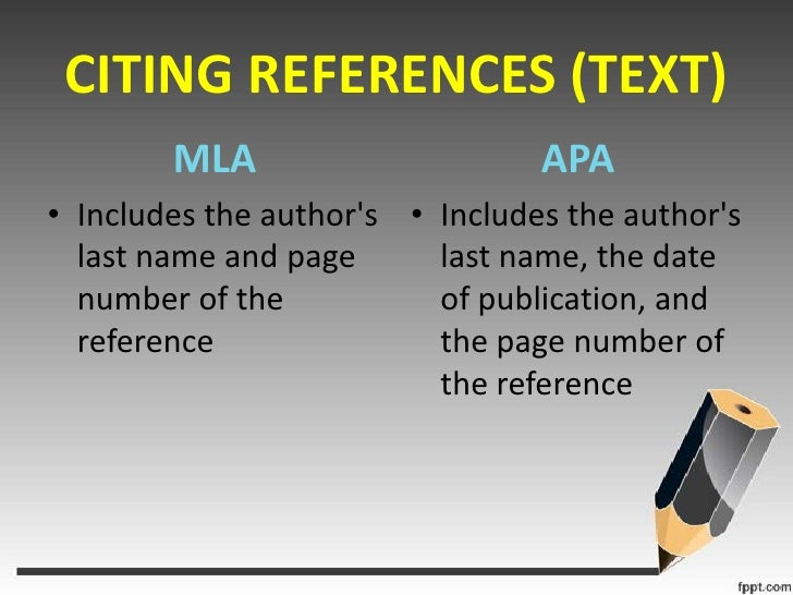 difference between mla and apa format