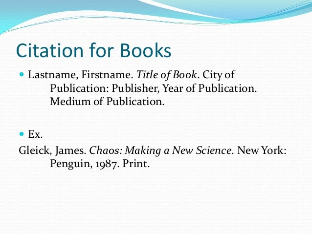 how to make a citation in mla format Choosing the correct format for the citations online citation guides for both the modern language association (mla handbook.