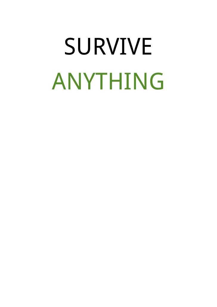 SURVIVEANYTHING
