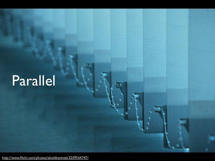 Parallelize ML         Algorithms• Embarrassingly parallel