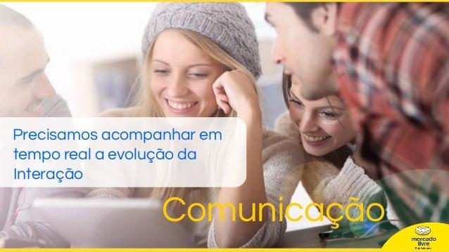 Precisamos acompanhar em tempo real a evolução da Interação Comunicação