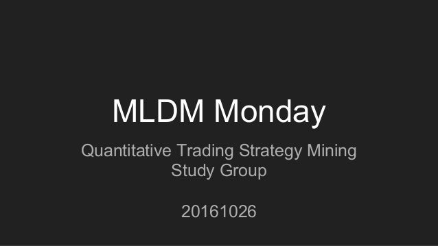 Trading strategy quantmod