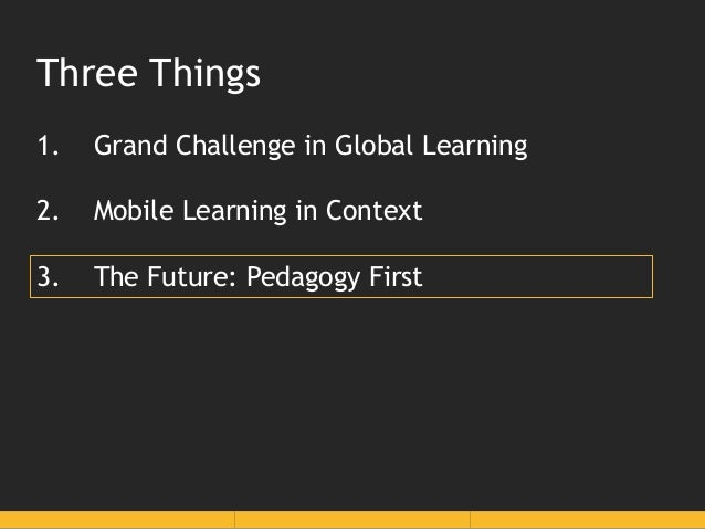 The last 20 years of mobile learning: signposts of the past, present and future