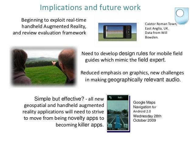 augmented reality in mobile learning thesis Teaching mathematics using augmented reality  janchai yingprayoon, drrernat  abstract  information technology enables us to develop innovative learning/teaching tools for mathematics.