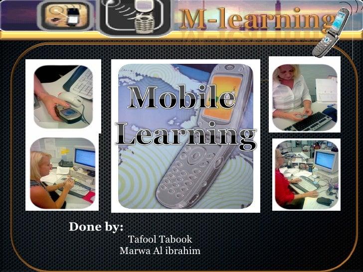 Done by: Tafool Tabook Marwa Al ibrahim