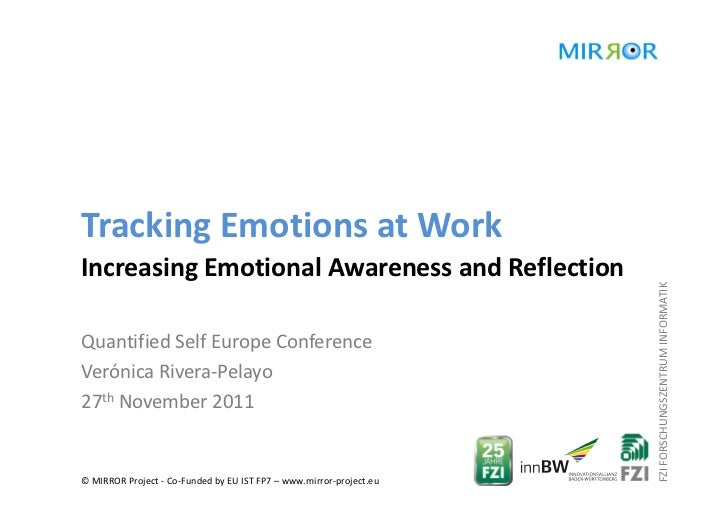 Tracking Emotions at WorkIncreasing Emotional Awareness and Reflection                                                    ...