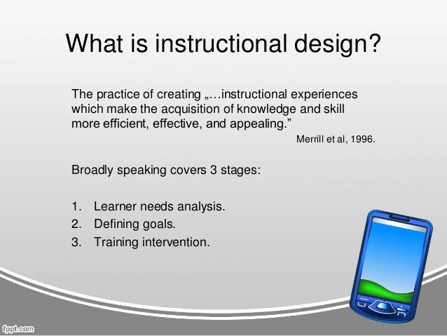 ADDIE Model: Instructional Design