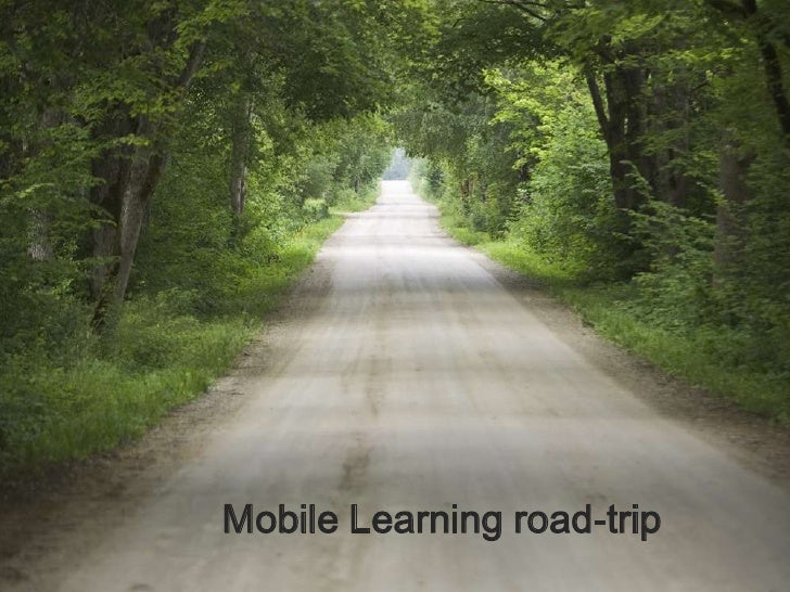 Mobile Learning road-trip<br />