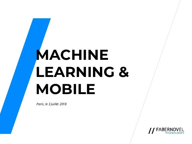 Business & Breakfast : Machine Learning & Mobile