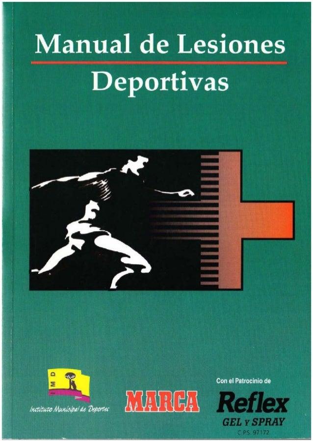 Manual de Lesiones en el Deporte