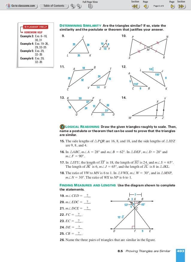 proving similar triangles worksheet Termolak – Similar Triangles Worksheets