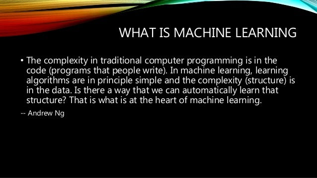 Applicability of Machine learning in computer networks Slide 3
