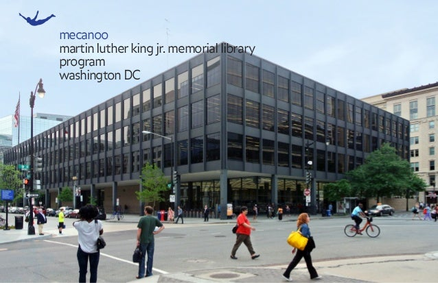 mecanoo martinlutherkingjr.memoriallibrary program washingtonDC