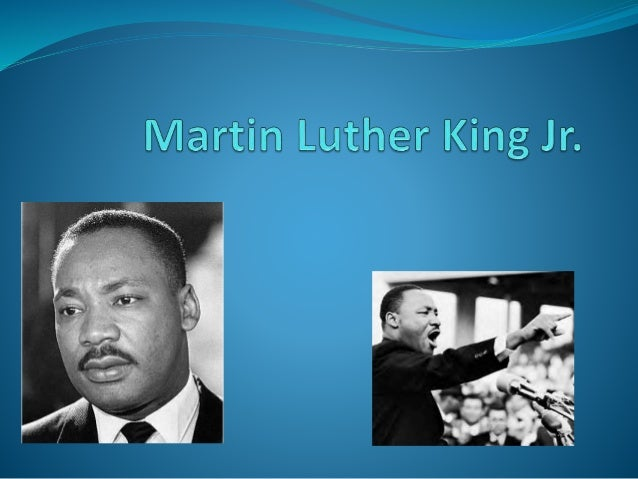 About MLK Jr.  Martin Luther King Jr. was an American clergyman, activist and a leader in the African American civil righ...