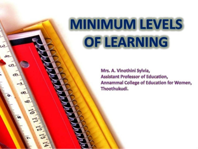 minimum level of learning Minimum learning competencies (mlcs) of chemistry for grade 9 and 10  • explain energy levels, valence electrons, and electron configuration.