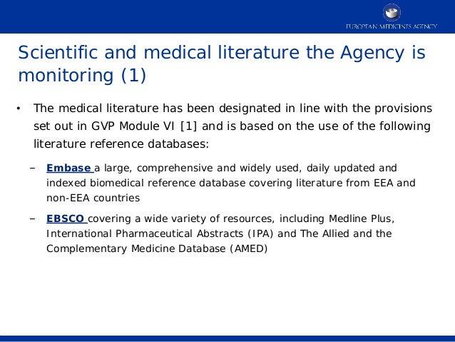 Monitoring of medical literature(MLM)