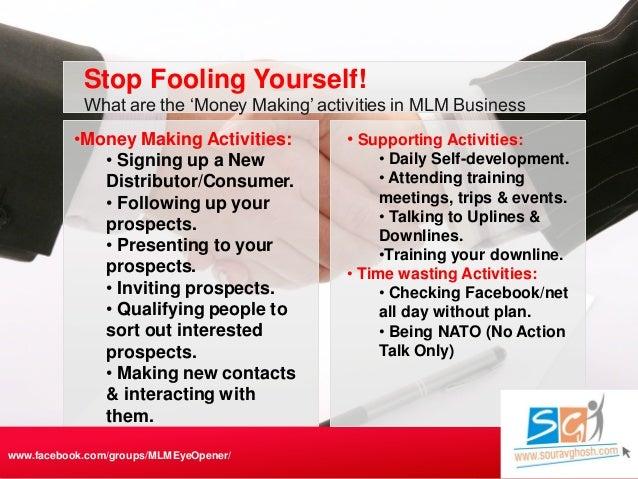 Secrets of Network Marketing / MLM / Direct Selling Success Slide 3