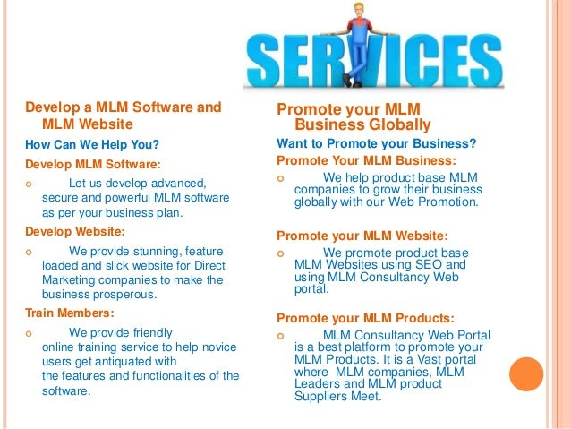 Reach us For MLM Software & MLM Website Demo Name: Balram Paul Phone: +91- 8768 404 720 Email: support@mlmconsultancy.co.i...