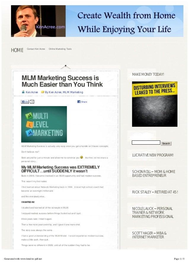 HOME           Contact Ken Acree        Online Marketing Tools                                                            ...