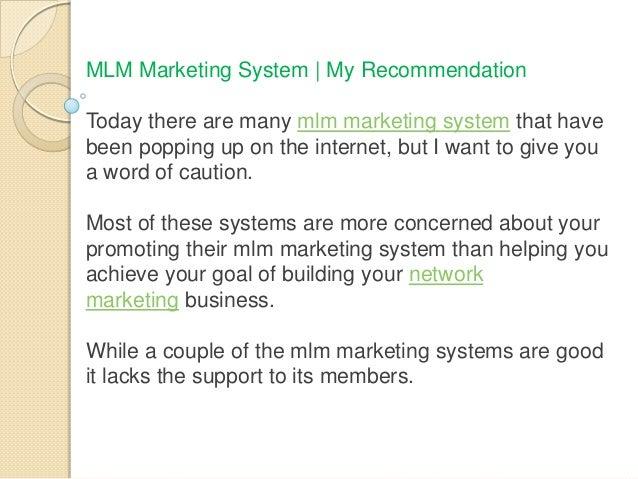 Proven Mlm Marketing System Revealed