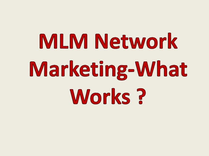 THE BIG QUESTION IS WHAT REALLYDETERMINES YOUR SUCCESS WITH AN         MLM COMPANY ?