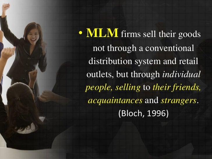 Multi-Level Marketing Slide Slide 3