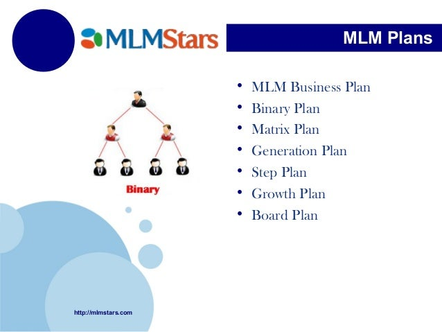 Online mlm business plan