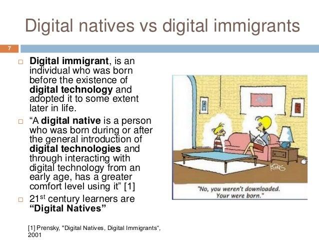 Digital native vs digital immigrants