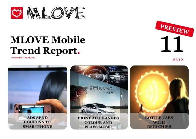 MLOVE MobileTrend Report.powered by TrendONE                                               11   2012           ADS SEND   ...