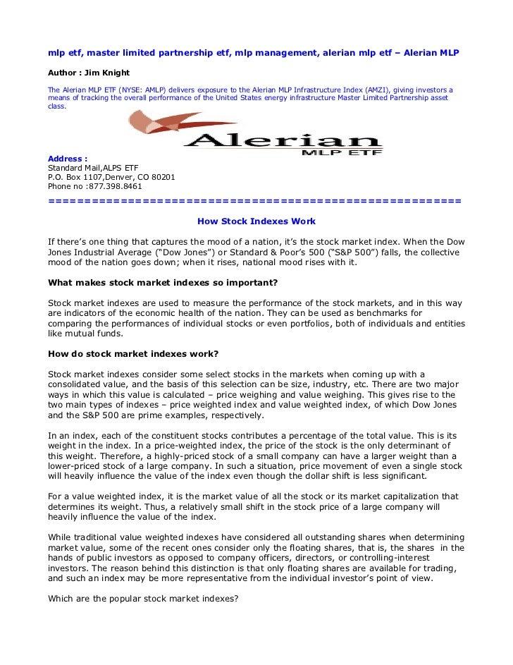 Amlp Stock Quote   Mlp Etf Master Limited Partnership Etf Mlp Management Alerian Mlp