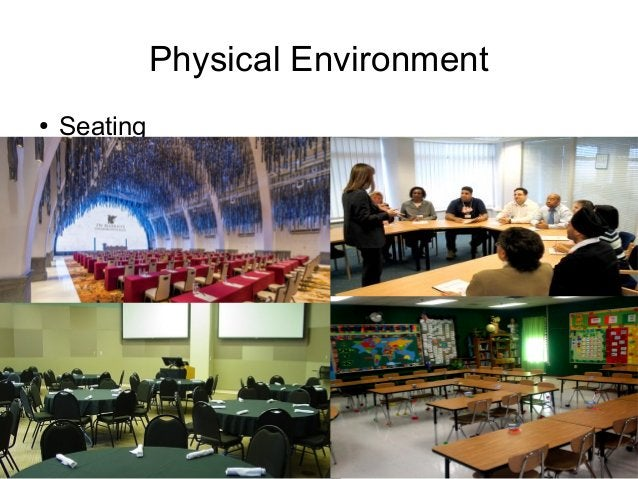Train the Trainer Mohammad Tawfik http://AcademyOfKnowledge.org http://WikiCourses.WikiSpaces.com Physical Environment ● S...