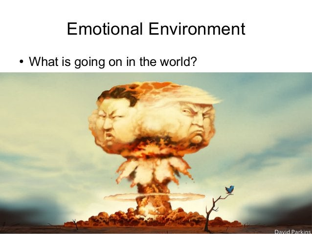 Train the Trainer Mohammad Tawfik http://AcademyOfKnowledge.org http://WikiCourses.WikiSpaces.com Emotional Environment ● ...